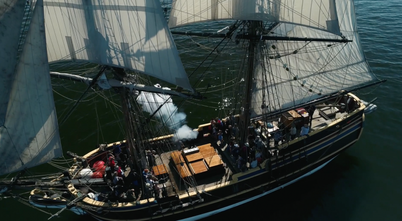 Antioch Marina Tall Ships