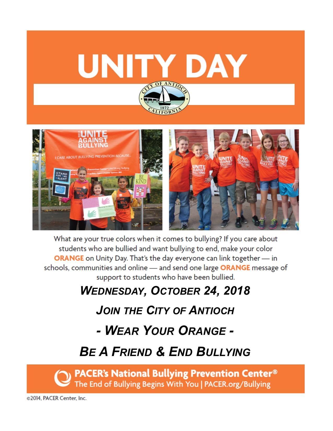 Unity Day Antioch