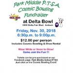 Cosmic Bowling Fundraiser