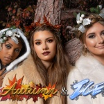 Autumn & Ice Themed Photo Sessions