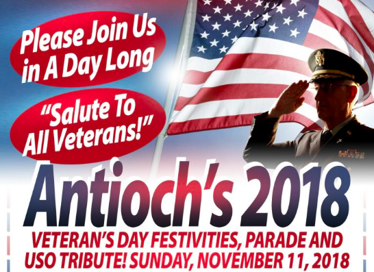 Antioch Veterans Day Celebration