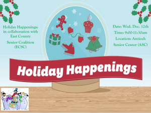 Antiochonthemove - Holiday Happenings