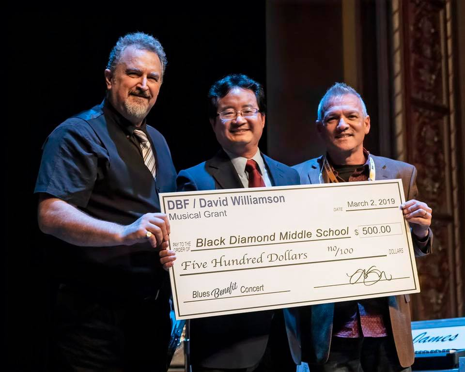 Black Diamond Middle School Receiving Memorial DBF/David Williamson Scholarship