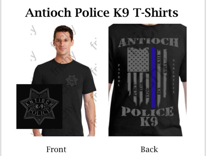 Antioch Police K9