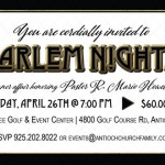 Harlem Nights – A Black-Tie Dinner Honoring Pastor Howell
