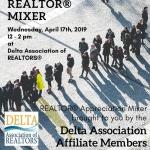 Delta Affiliate/Realtor Mixer