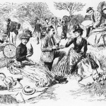 Old-Fashioned Cemetery Picnic