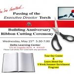 Delta Learning Center - Anniversary Ribbon Cutting