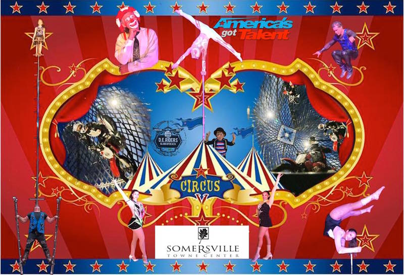 Walter Bros Circus - Somersville TownCenter
