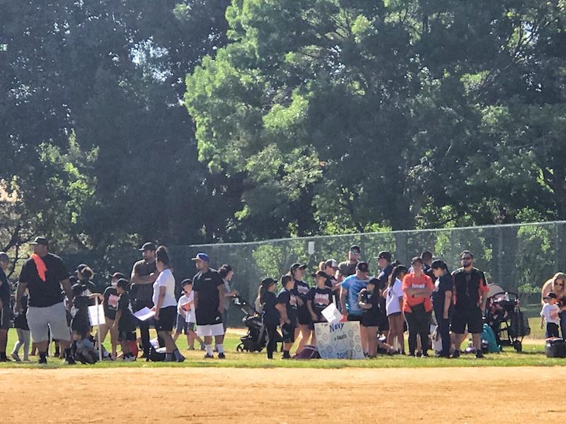 Antioch Jr Giants Crowd