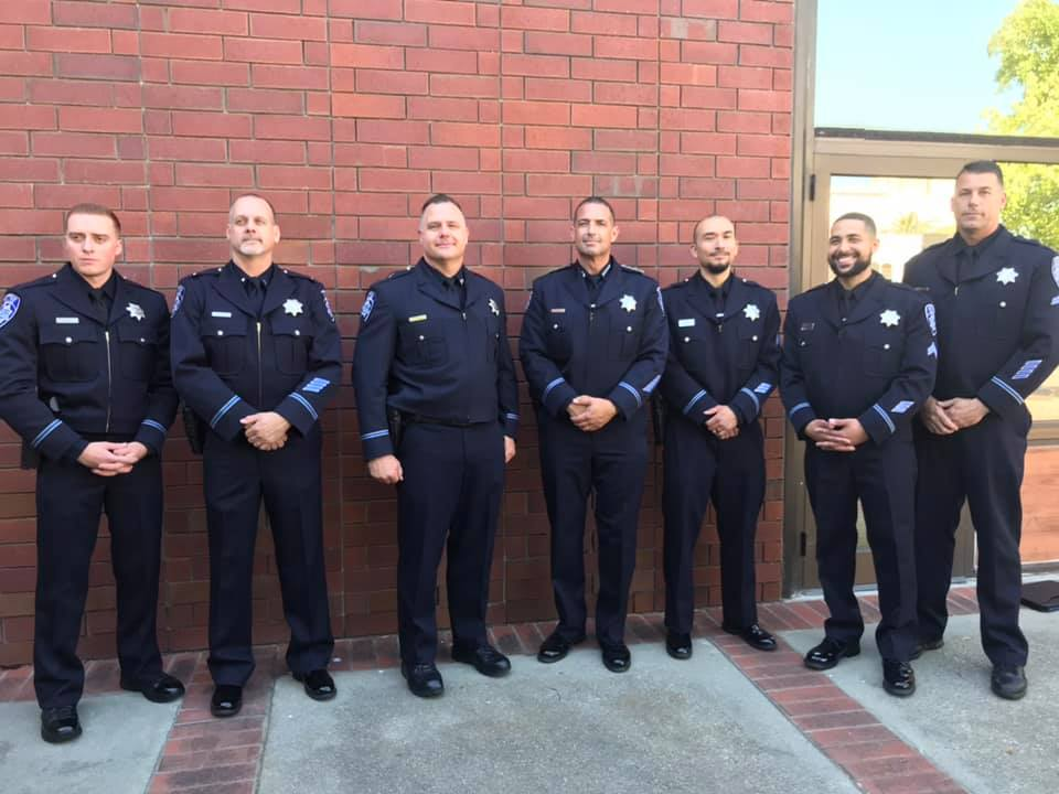 Antioch Police Department New Officers