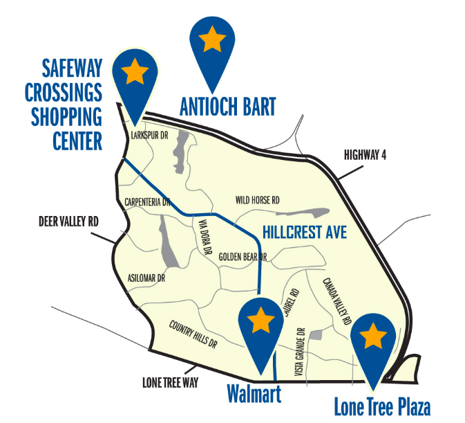 Tri My Ride - Antioch Service Areas
