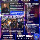Back by popular demand 🎉!! The Antioch Police Department is accepting applications for our 2019 Citizens Academy 📚, now through September 13th. Interviews will be held on September 18th and 19th and classes begin October 9th.