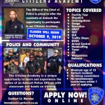 Citizens Academy Now Accepting Applications