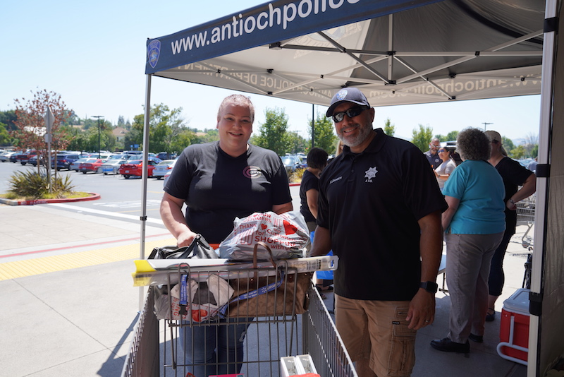 Antioch Police Department Collecting Back Packs and School Supplies