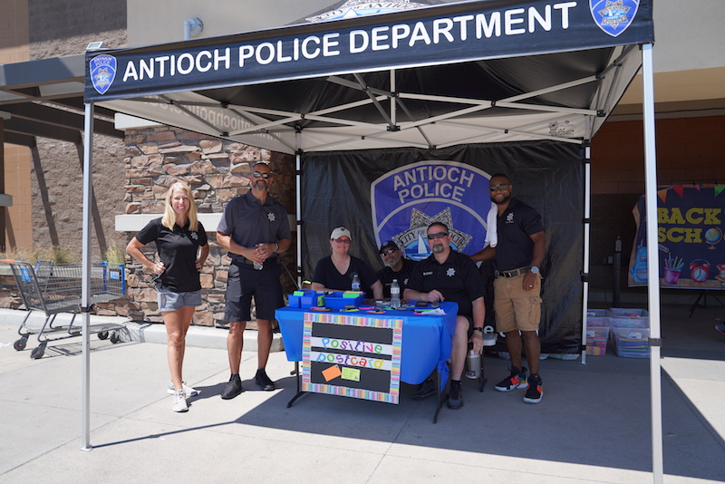 Antioch Police Department - Fill A Car Drive