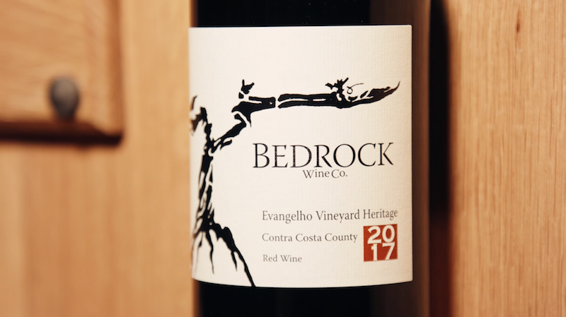Bedrock Wine Co. Evangelho Bottle