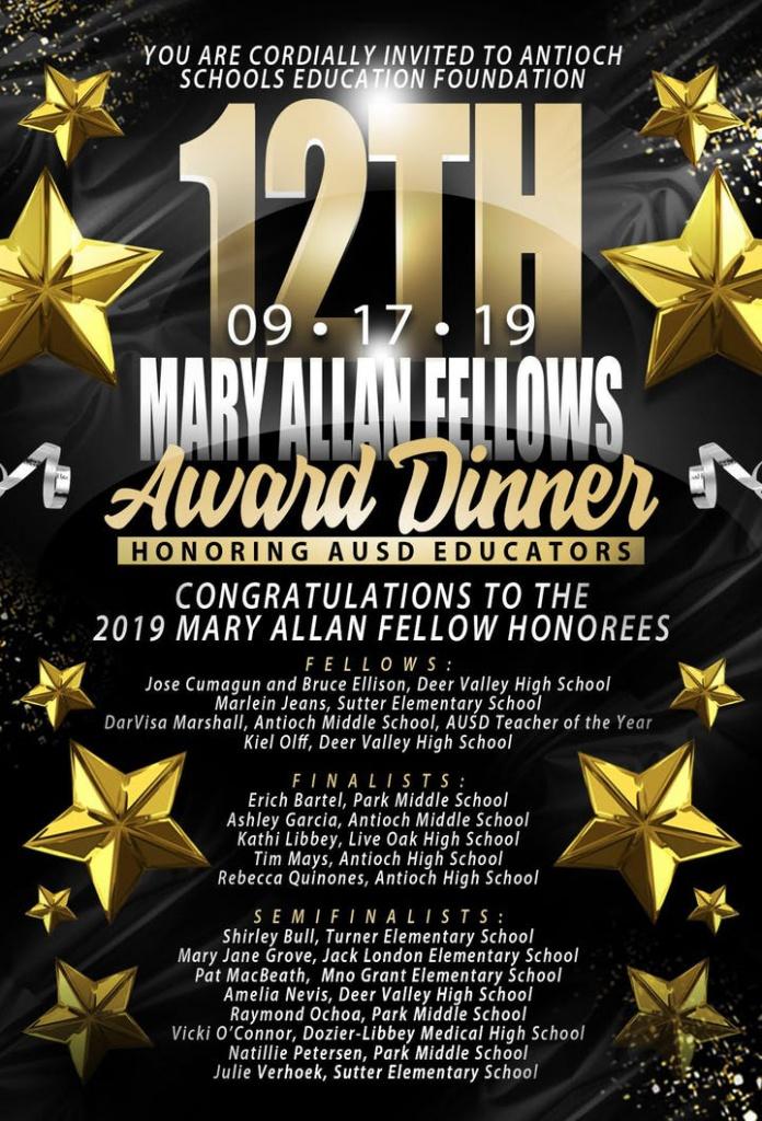 Mary Allan Fellows