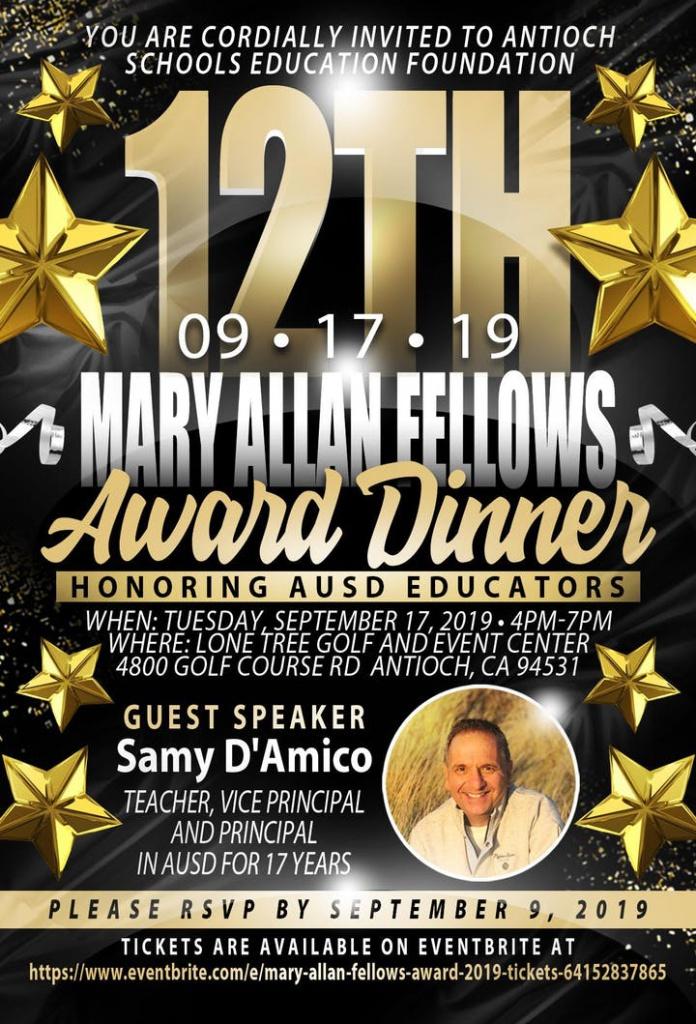 Mary Allan Fellows Poster