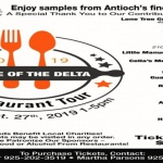 Pride of the Delta Restaurant Tour 2019