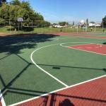 Basketball Courts Ribbon-Cutting