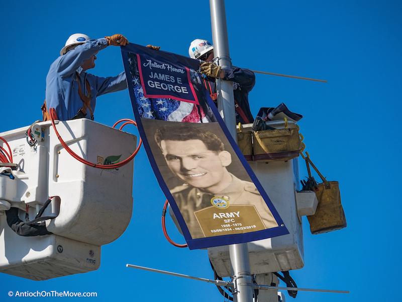 Veterans Banner-Antioch CA