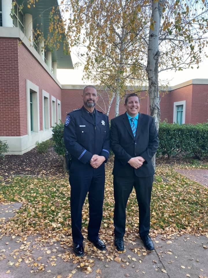 Antioch Police Department - New officer Michael