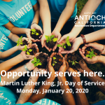 Antioch Hosts Day of Service Projects on MLK Day
