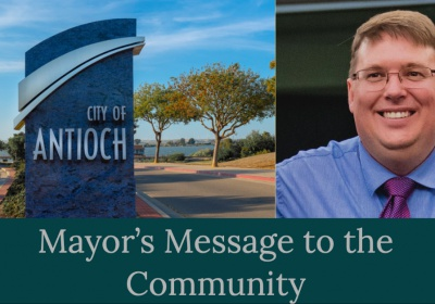 Mayor's Message- City of Antioch