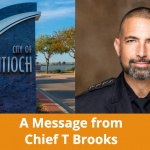 Message from Chief Tammany Brooks Regarding 8 Can't Wait