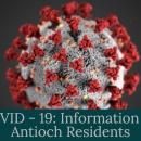 COVID 19 - Antioch Residence