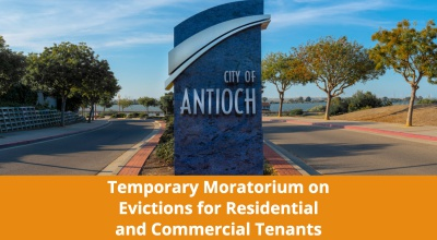 City of Antioch - Temporary Moratorium