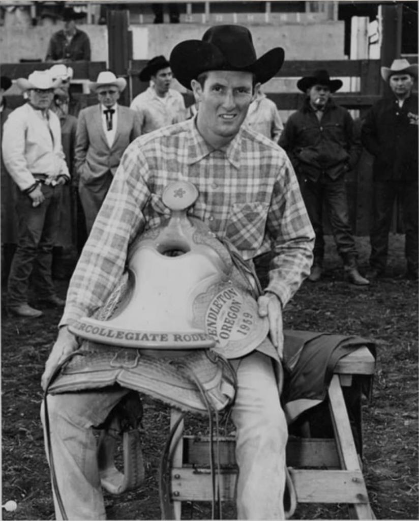 1959 Intercollegiate Rodeo - Photo from San Jose Mercury News