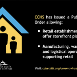 Retail Stores in Contra Costa County May Offer Curbside Sales or Other Outdoor Pickups