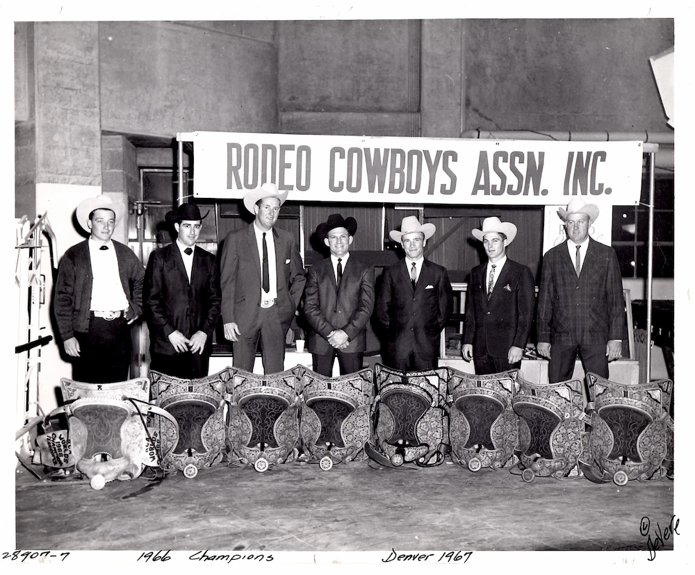 Rodeo Cowboys Association - Jack Roddy - Photo by DeVere Helrich