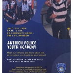 2020 Antioch Police Department Youth Academy