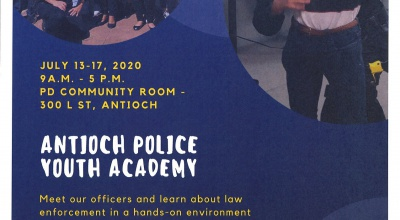 Antioch Police Youth Academy