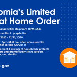 Limited Stay at Home Order