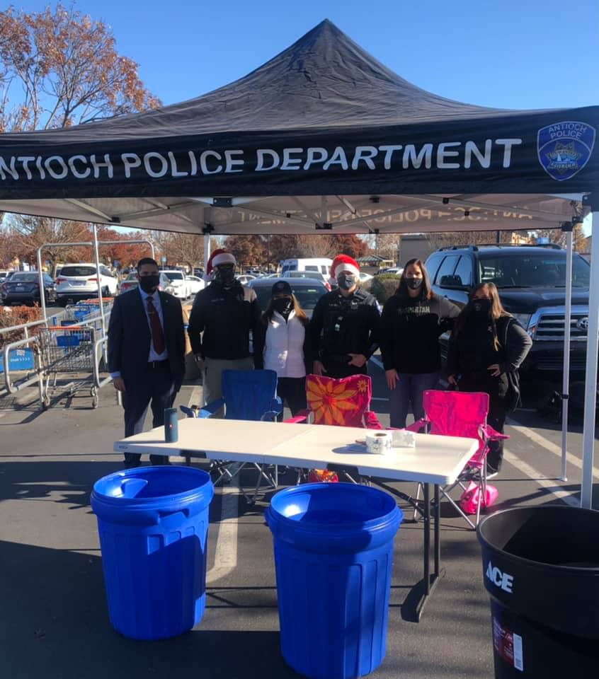 Antioch Police Department - Giving Tuesday at Walmart