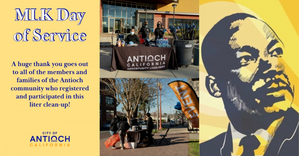 City of Antioch - MLK Day of Service