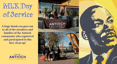 City of Antioch - MLK Day of Service