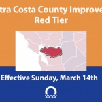 Contra Costa Improves to Red Tier
