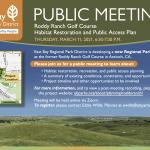 Roddy Ranch Golf Course: Public Meeting