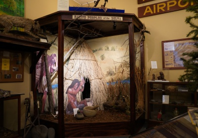 Miwok and Native American Display at the Antioch Historical Museum