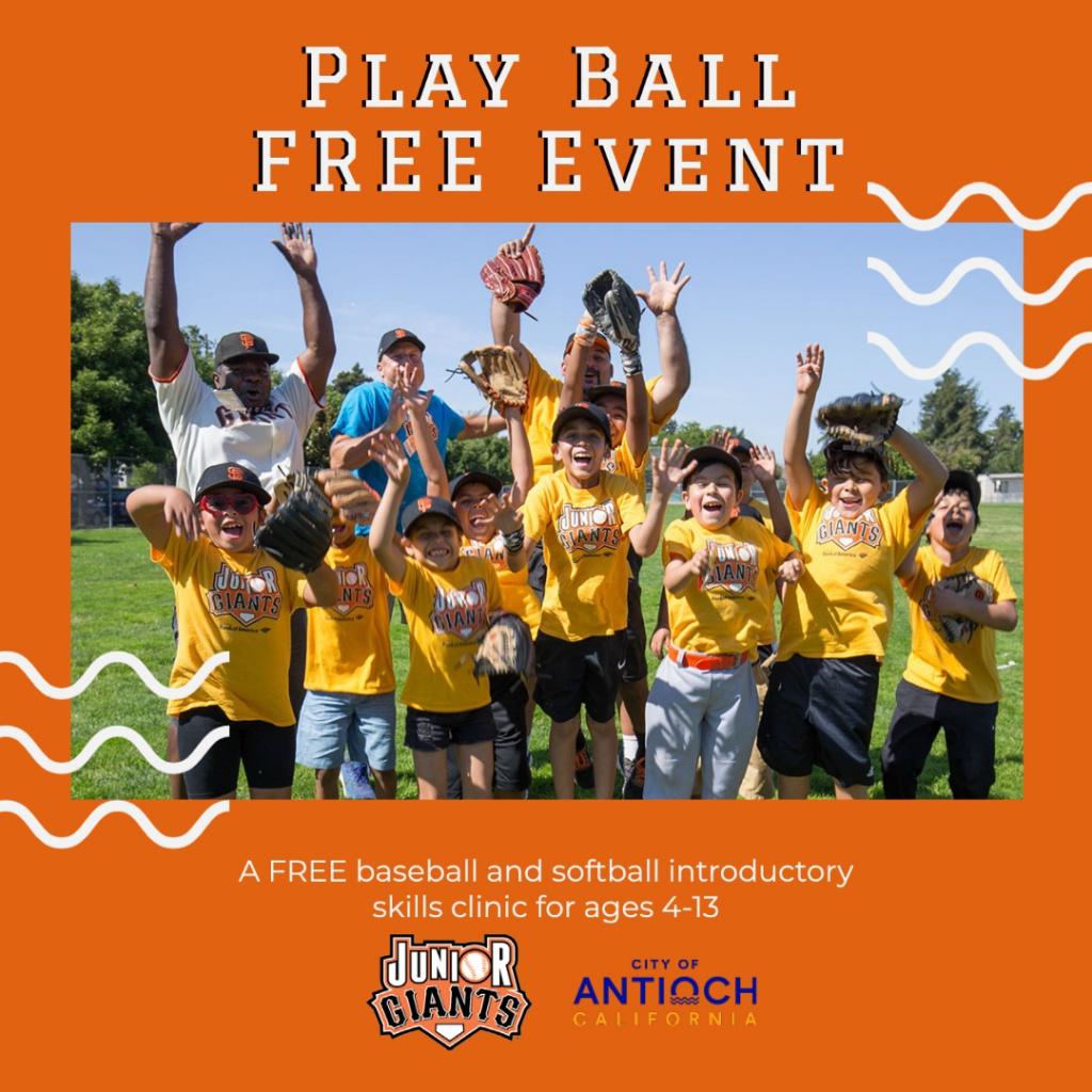 Junior Giants Play Ball Event