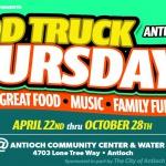 Food Truck Thursdays 2021 - Antioch