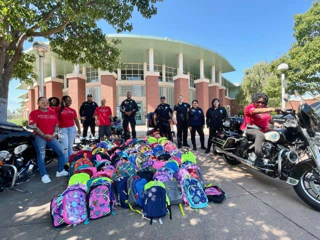 Backpack Drive - Antioch Police Department