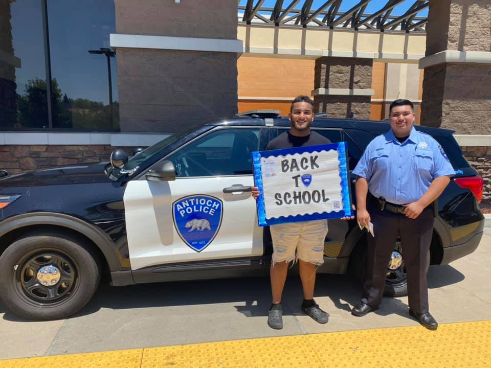 Antioch Police Department Backpack drive