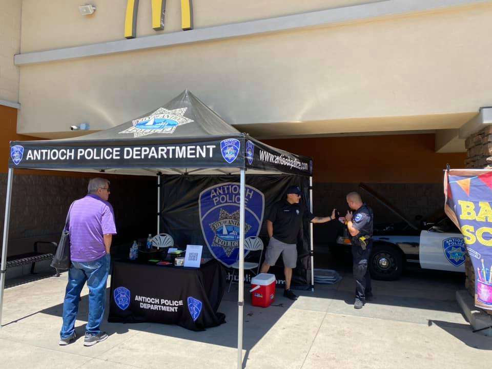 Back to School Drive - Antioch Police Department