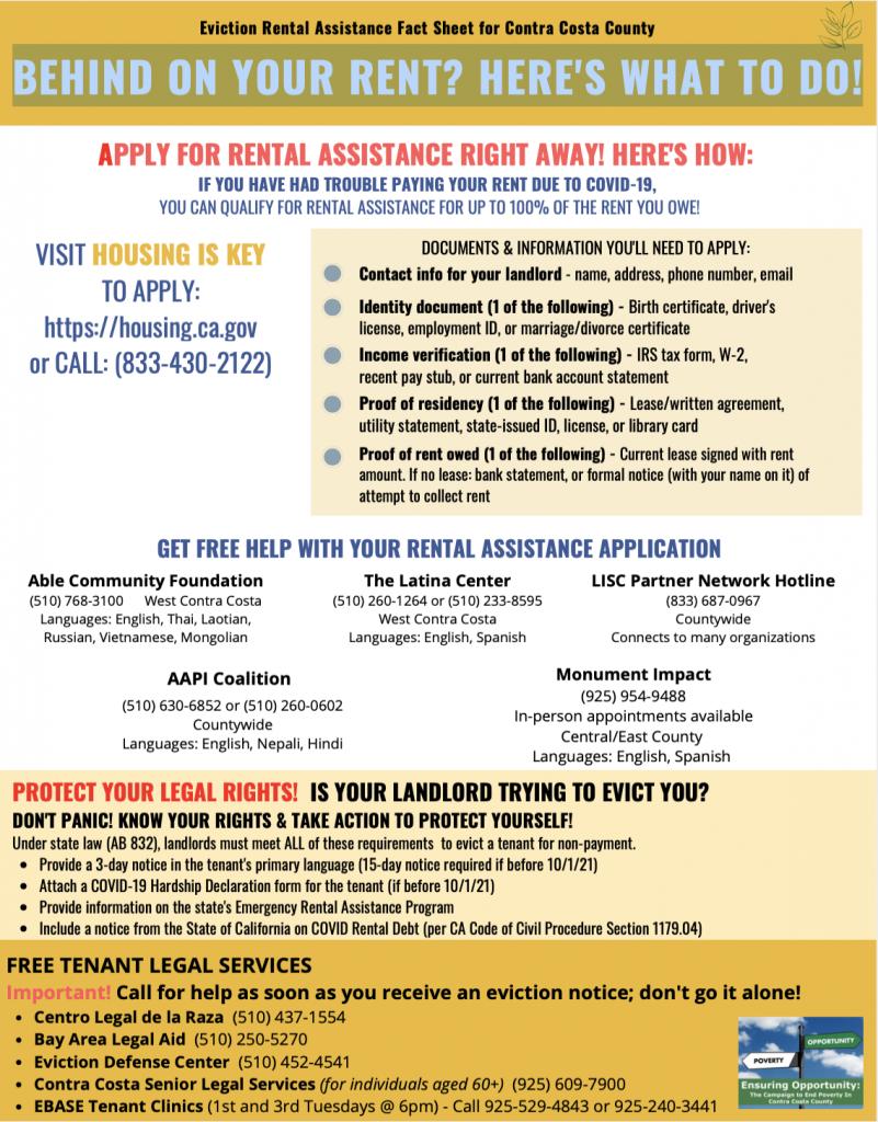 EARP - Rental Assistance Flyer